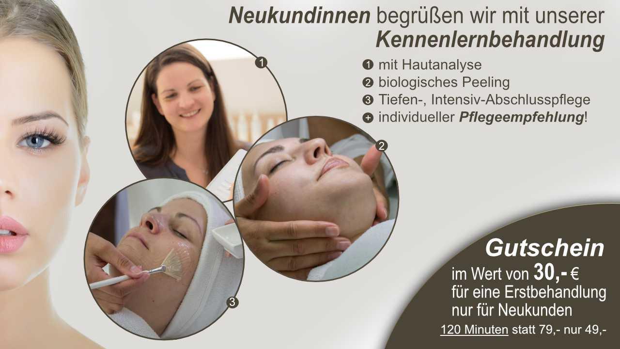 SINLINEA - Kosmetikstudio Wallersdorf Erstbehandlungs-Gutschein
